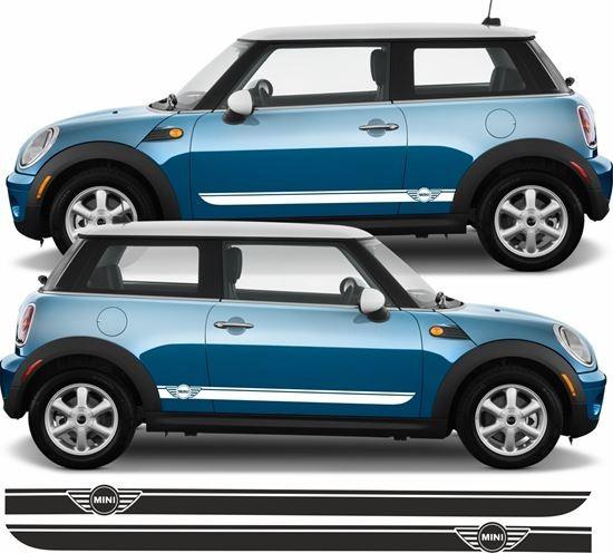 Aufkleber Seitenstreifen Mini Cooper Mk1mk2