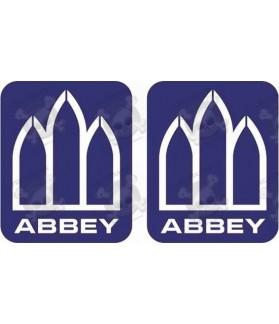 Adhesivo caravana ABBEY