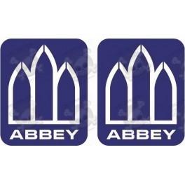 Stickers decals caravans ABBEY