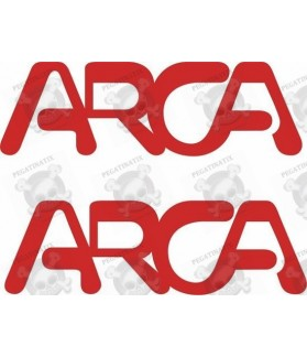 Stickers decals caravans ARCA x2