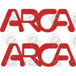 Stickers decals caravans ARCA x2