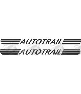 Adhesivo caravana AUTOTRAIL x2