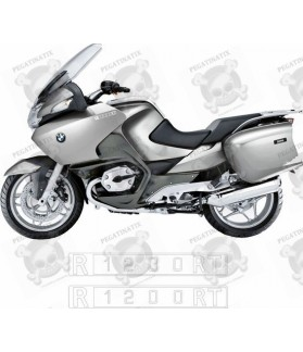 Stickers BMW R1200RT SILVER YEAR 2005-2009