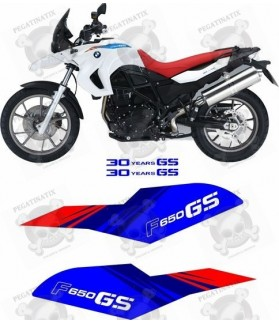 Stickers BMW F650GS SPECIAL 30 YEAR MODEL 2011