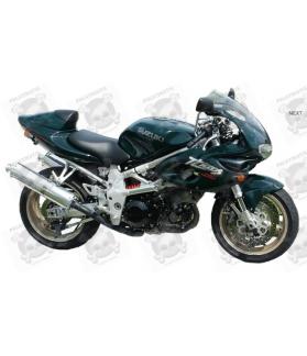 STICKERS Suzuki TL 1000S YEAR 1998 GREEN