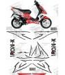 Stickers Peugeot Speed Fight , full Iron X