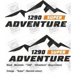 Stickers KTM 1290 ADV Touratech Givi
