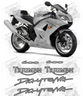Stickers TRIUMPH DAYTONA 600 YEAR 2005