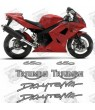 Stickers TRIUMPH DAYTONA 650 YEAR 2005