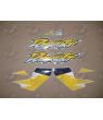 Stickers HONDA NX-650 DOMINATOR YEAR 2000 BLUE YELLOW WHITE