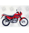 Stickers HONDA NX-650 DOMINATOR YEAR 2001 RED