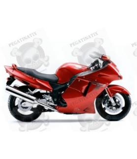STICKERS Honda CBR-1100XX YEAR 1999 RED