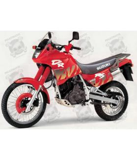 STICKERS SUZUKI DR-650 RSE YEAR 1993 RED VERSION
