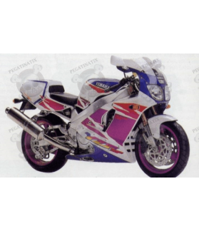 Stickers YAMAHA YZF-750SP YEAR 1994 WHITE PURPLE