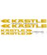 Stickers decals bike Kastle
