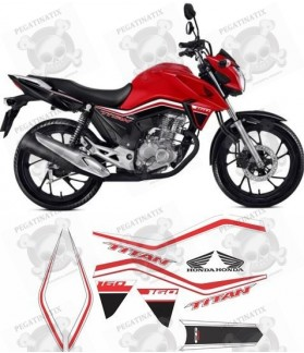 STICKER Honda CG160 TITAN