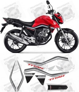 STICKER Honda CG160 TITAN