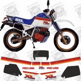AUFKLEBER HONDA XL600 LM YEAR 1985-1989