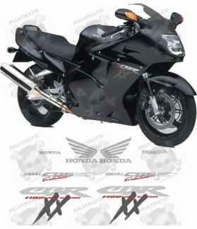 STICKERS Honda BLACKBIRD CBR-1100XX YEAR 1997-1999
