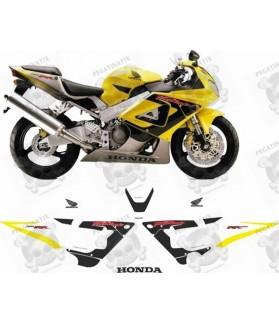 Honda CBR 929RR YEAR 2000-2001 STICKERS