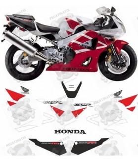Honda CBR 929RR YEAR 2000-2001 STICKERS VERSION US