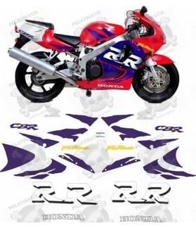 Honda CBR 900RR FIREBLADE YEAR 1998 STICKERS