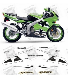 Kawasaki ZX-6R 636 YEAR 2000-2002 STICKERS