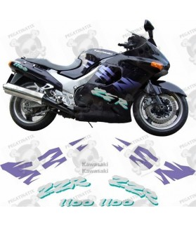 Kawasaki ZZR 1100 YEAR 1995 STICKERS