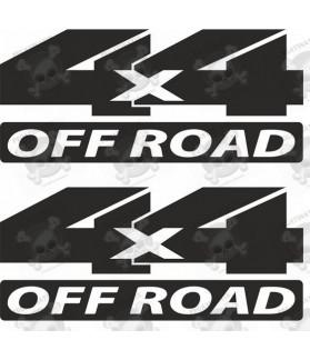JEEP 4x4 Off Road STICKER X2