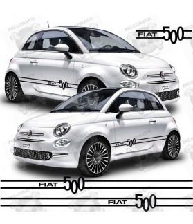 Fiat 500 SIDE Stripes STICKER