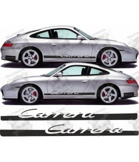 PORSCHE 911-996 Carrera side Stripes STICKER