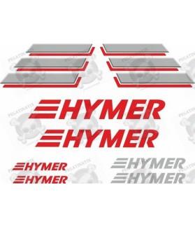 Caravan Hymer panel Adhesivo