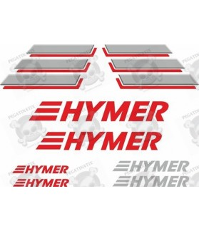 Caravan Hymer panel Decals
