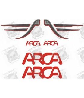 Caravan ARCA panel Decals
