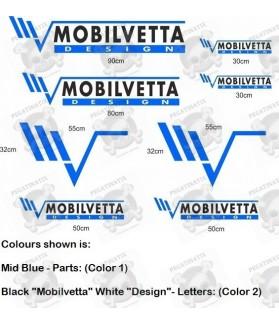 Caravan Mobilvetta Design panel Decals