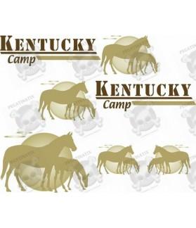 Caravan Kentucky Camp Design panel Decals