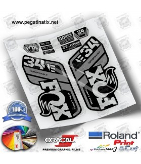 DECALS FOX 32 FACTORY STEP CAST 2021 WP316