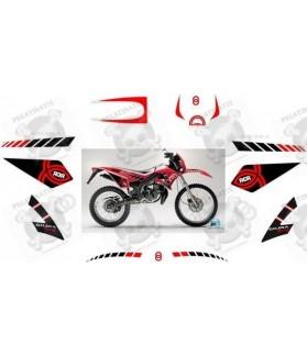 Stickers decals motorcycle GILERA RCR-50