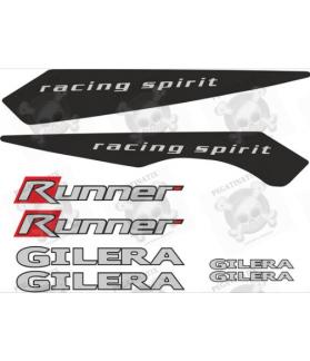 Stickers decals motorcycle GILERA RUNNER