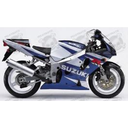 SUZUKI GSX-R 600 YEAR 2001 WHITE/BLUE