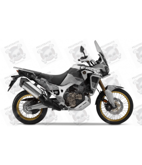 HONDA AFRICA TWIN YEAR 2019 SILVER/GREY STICKERS