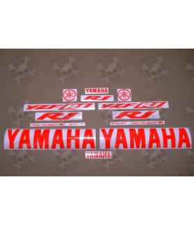 YAMAHA YZF-R1 YEAR 2002-2003 RED FLUOR