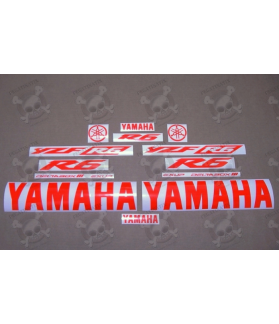 YAMAHA YZF-R6 YEAR 2003-2009 RED FLUOR