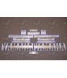 YAMAHA YZF-R6 YEAR 2003-2009 MATTE GOLD