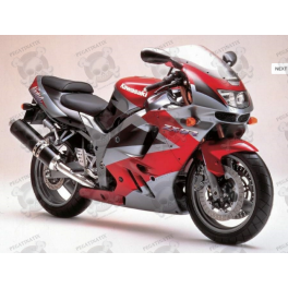 Kawasaki ZX-9R YEAR 1995 RED/SILVER/BLACK
