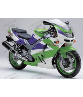 Kawasaki ZX-9R YEAR 1994 GREEN WHITE PURPLE