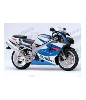 STICKERS KIT Suzuki TL 1000R YEAR 2000 - WHITE BLUE