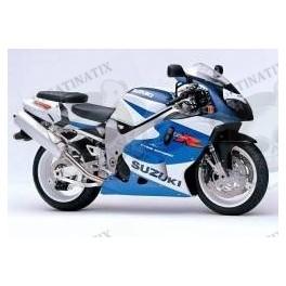 STICKERS KIT Suzuki TL 1000R YEAR 2000 - WHITE BLUE