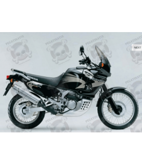 HONDA XRV 750 AFRICA TWIN 2003 - BLACK/GOLD STICKERS
