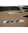 STICKER SET KAWASAKI ZX-6R YEAR 2008 GREEN